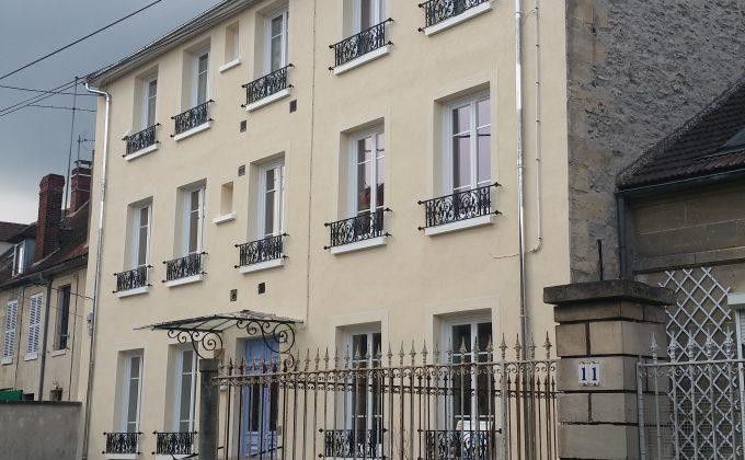 Ravalement façade Mouy