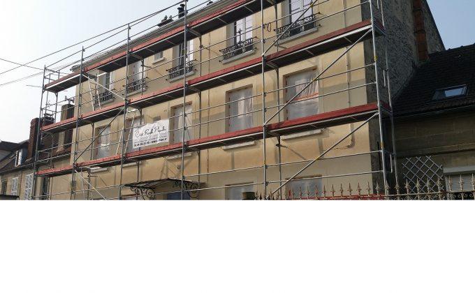 Ravalement de façade à Mouy cofapi