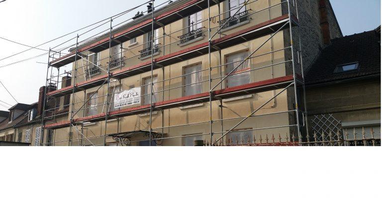 Ravalement de façade à Mouy cofap