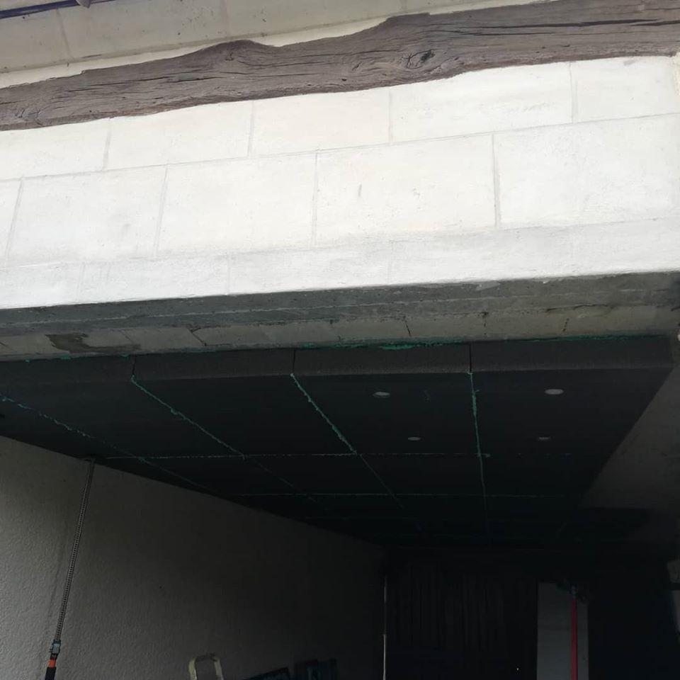 Cofapi isolation plafond garage Verneuil en Halatte