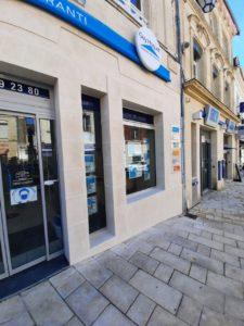 Partie droite de la façade rénovée par Cofapi