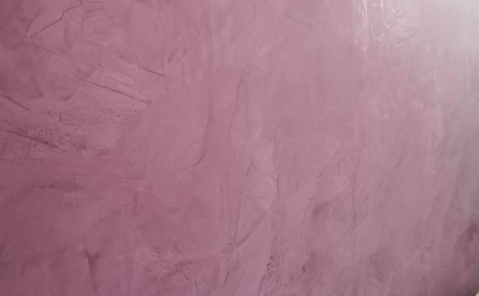 Décoration intérieure par Cofapi Vue de plus ciblée de l'enduit décoratif pour voir les effets réalisés par notre peintre