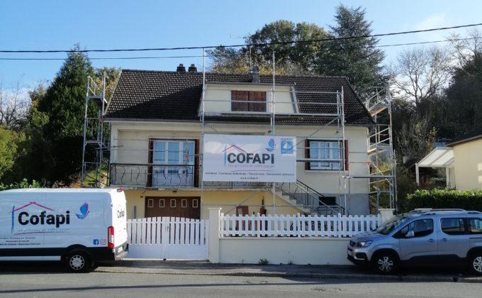 Maison en cours de rénovation par Cofapi